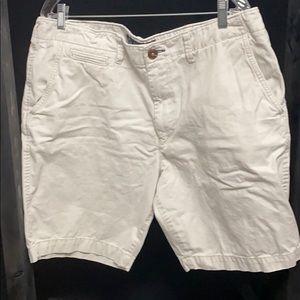 American Eagle Men's size 38 light khaki shorts